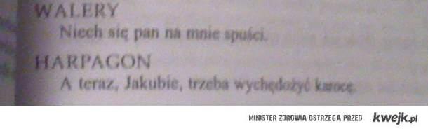 Lektura szkolna ;D