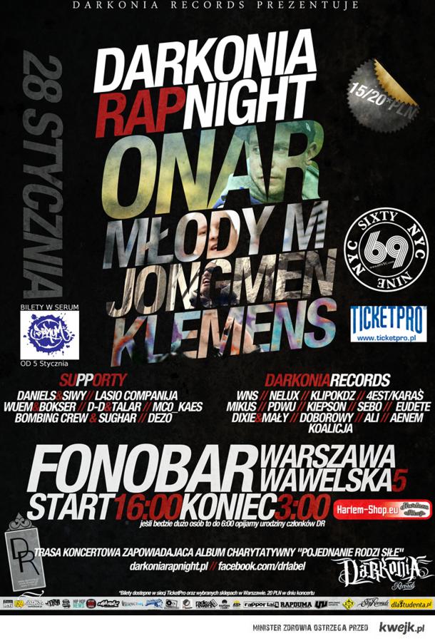 darkonia rap night
