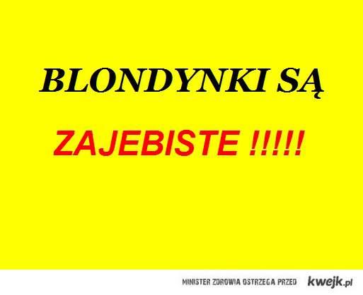 Blondynki ;D