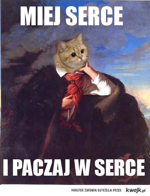 Mickiewicz paczy
