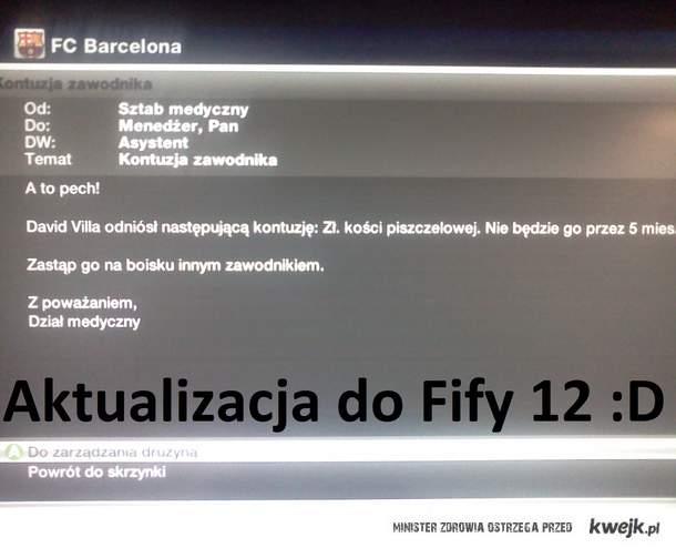 Aktualizacja do fify 2012