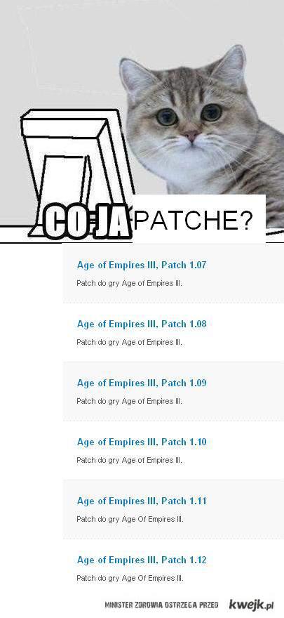 Co ja patche ?