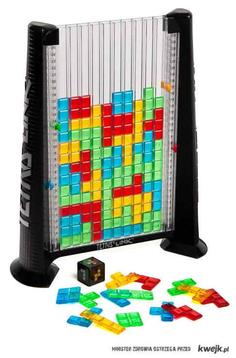 analogowy tetris