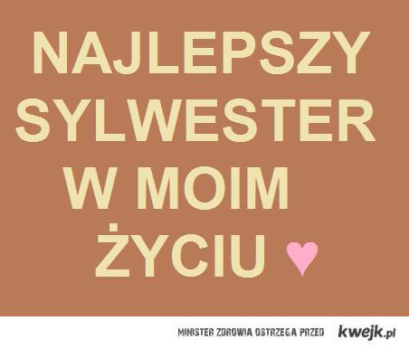Sylwester. ♥