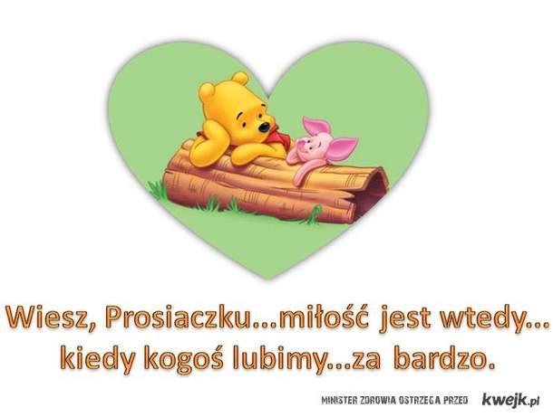 kubuś puchatek - miłość
