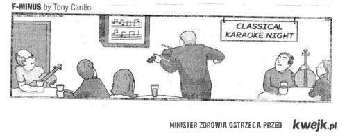 klasyczne karaoke