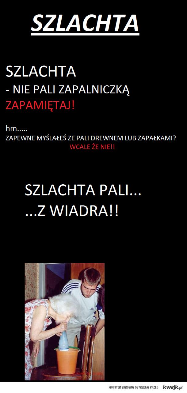 Szlachta pali