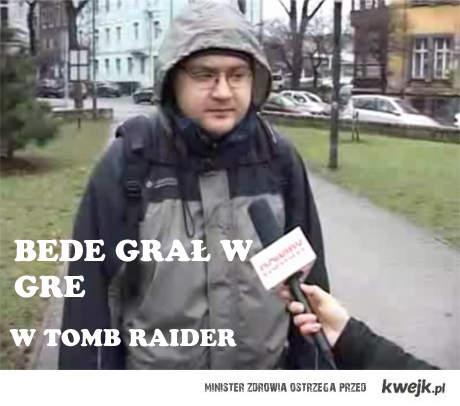 Sylwester Tomb Raider