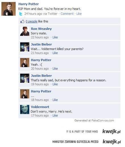 Voldemort i bieber