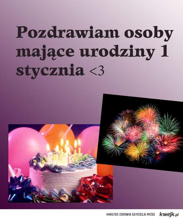 Urodziny w Nowy Rok