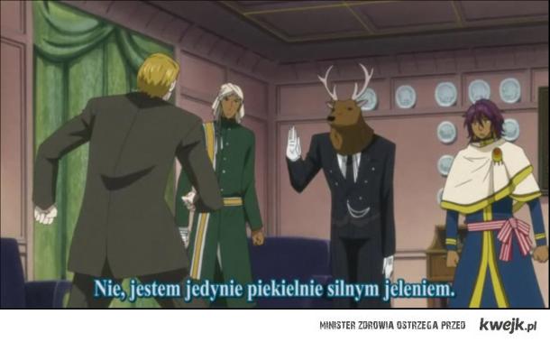 Tajemnica jelenia w smokingu została rozwiązana ~ :3