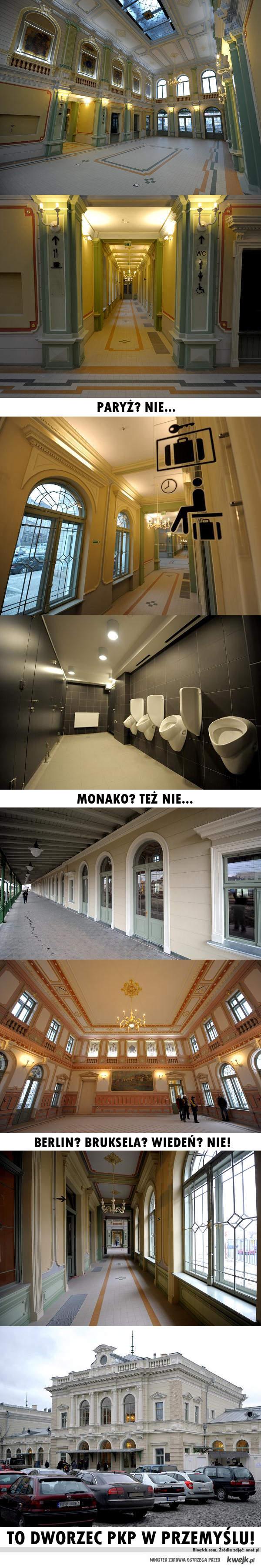 Dworzec PKP w Przemyślu