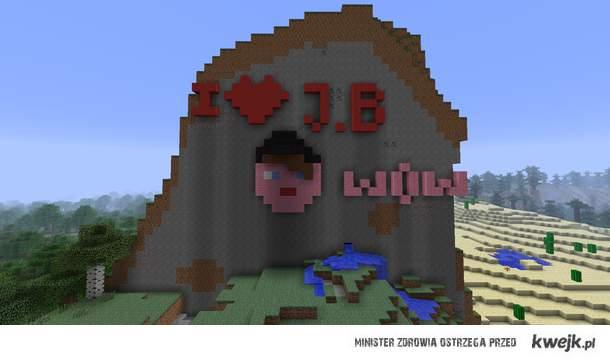 Justin Bieber in Minecraft
