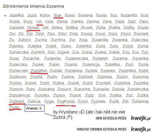 Ananas Zuźka