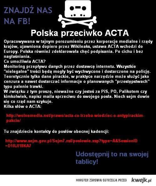 Polska vs. ACTA