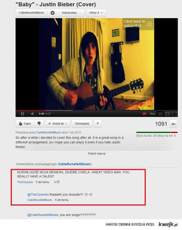 talent - zawsze docenią go Polacy :)