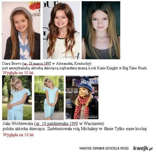 aktorki z 1997/8 wyglądają na 10 lat.