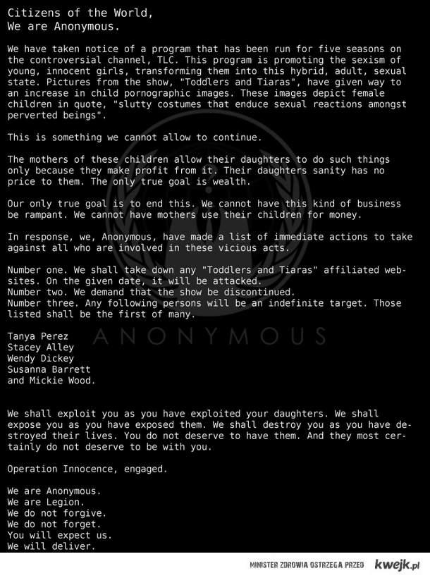 AnonMessage