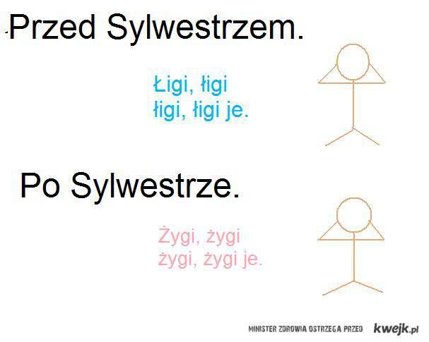 Przed i po Sylwestrze .