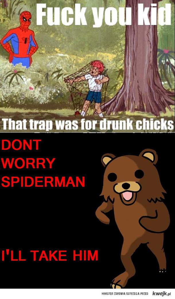 don't worry spiderman