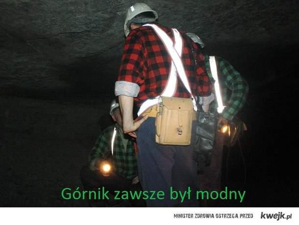 Górnik zawsze w modzie