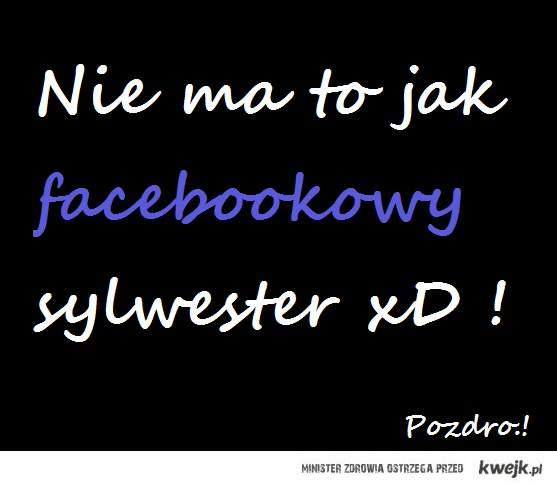Sylwester=Facebook