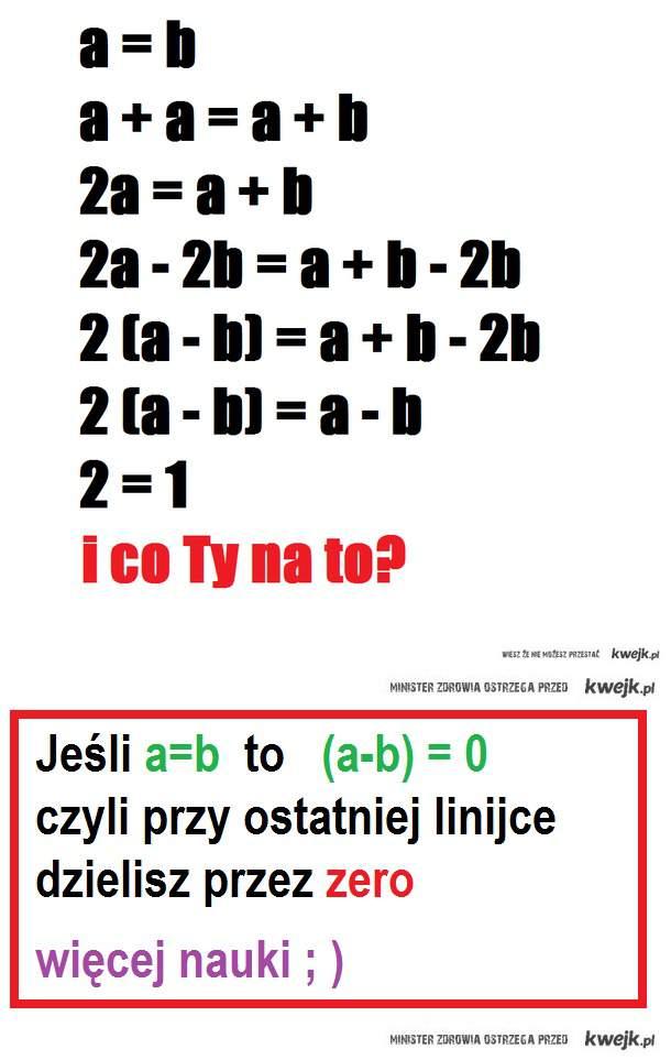 Matematyka nie jest łatwa