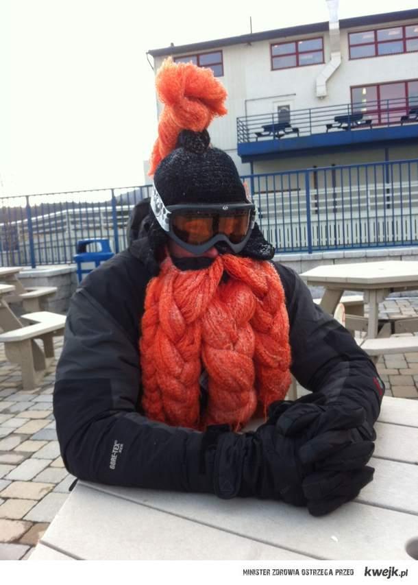 zimowy strój krasnoluda