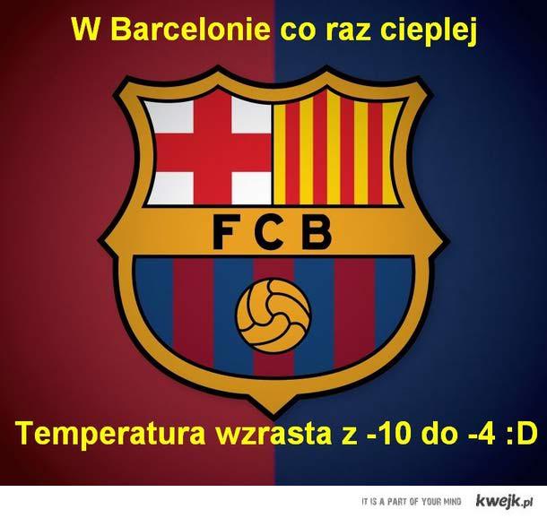 Barcelona, real,  temperatura