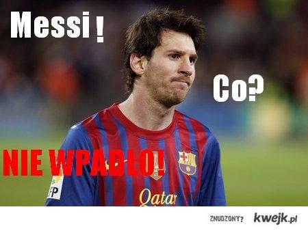 Messi! Co? Nie wpadło!