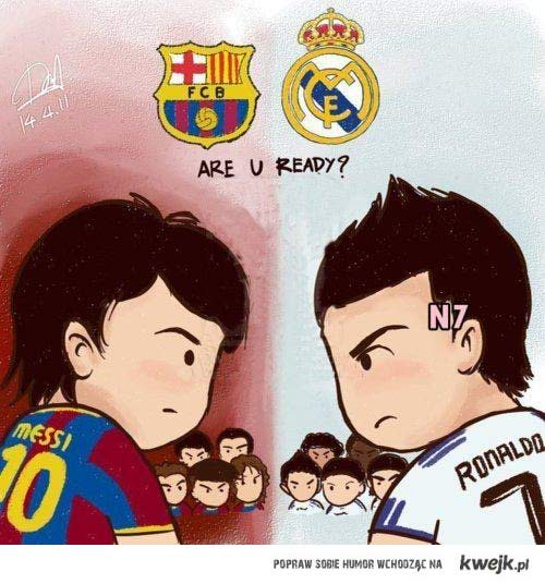 Barca czy Real? ♥