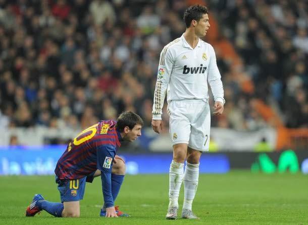 Ronaldo>Messi