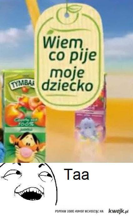 wiem co pije moje dziecko