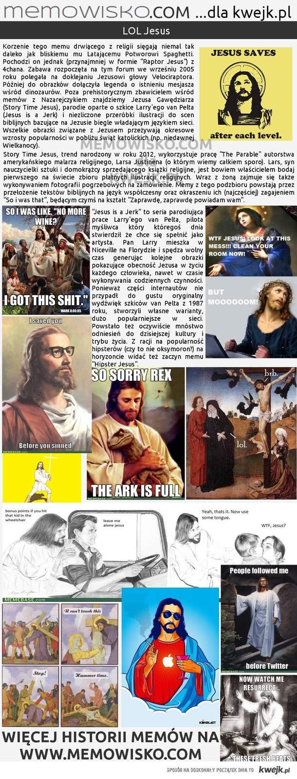 LOL Jesus - Memowisko dla kwejk.pl