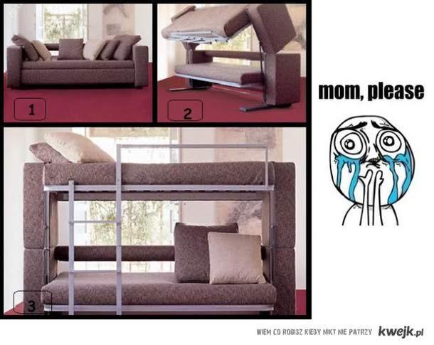 piętrowe łoże