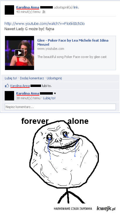 forever alone ♥