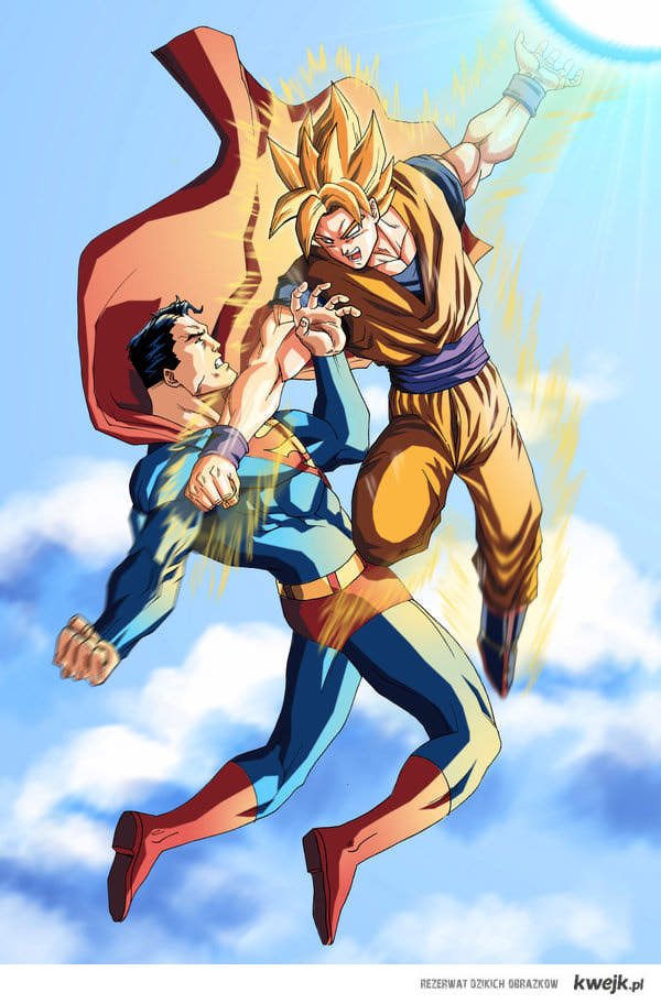 Goku ssj vs Superman