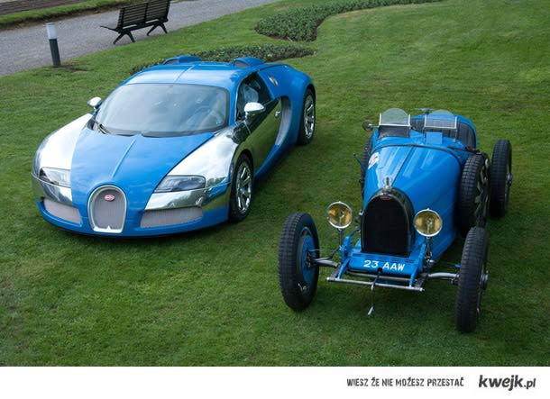 Bugatti kiedyś i dziś