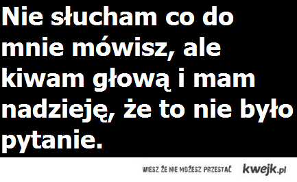 Niestety taka prawda ;)