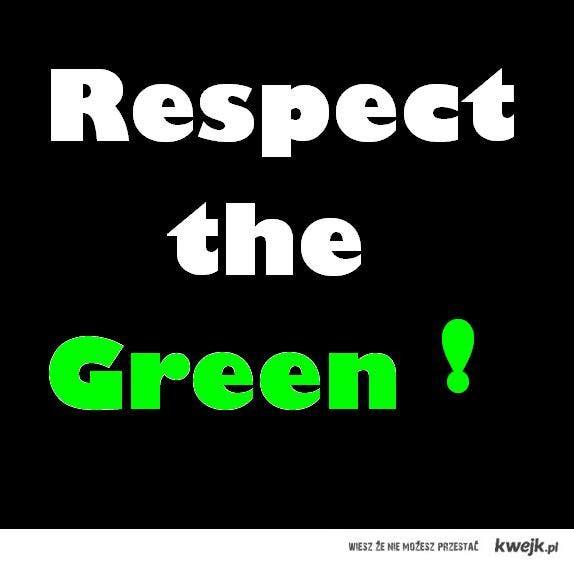 Szanuj zieleń.