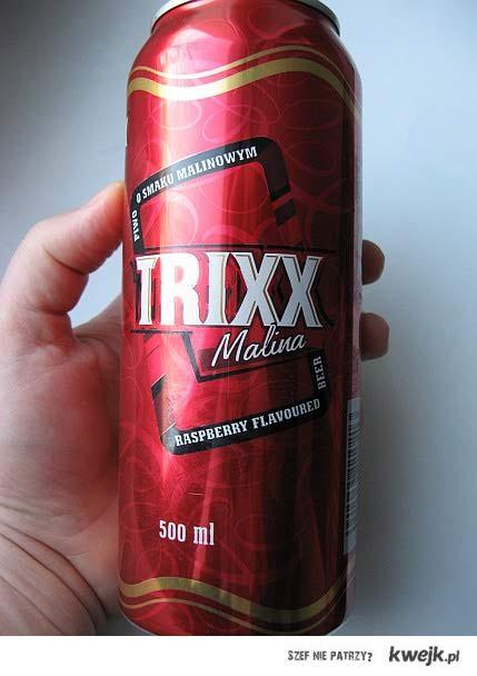 Trixx piwo biedronkowe