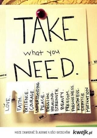 what do u need
