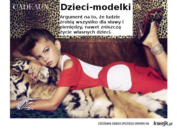 Dzieci-modelki