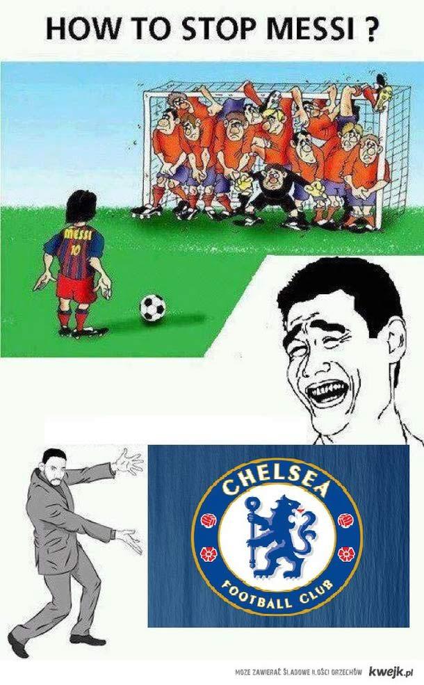 Messi i Chelsea