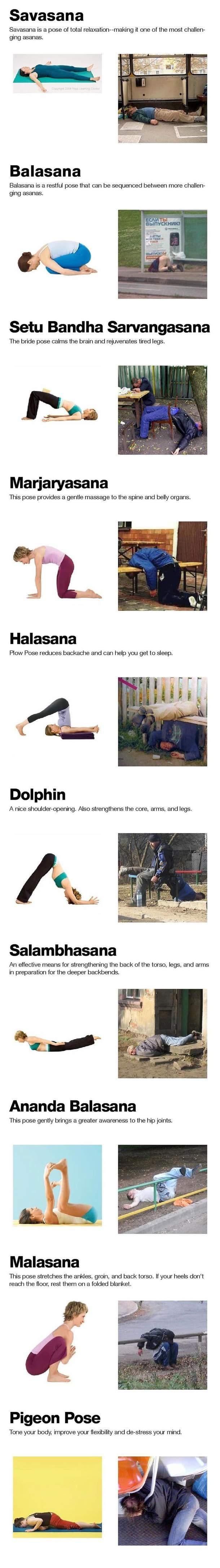 Nowy sposób na yoge :D
