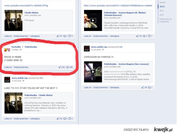 Facebook Paktofoniki :D