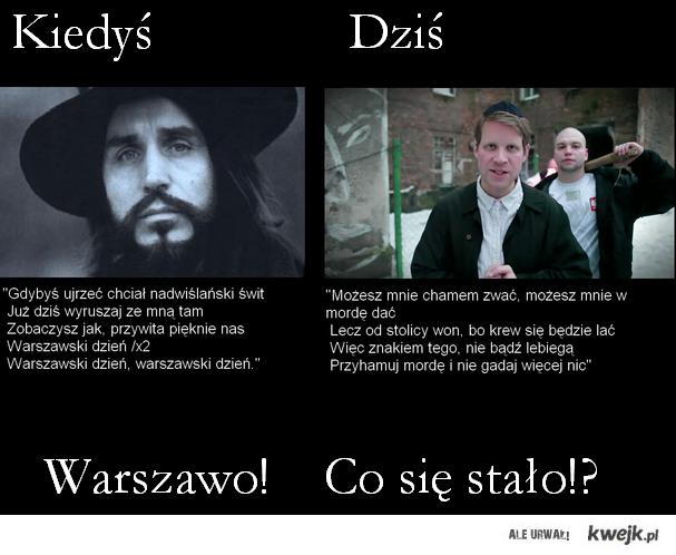 Warszawo!
