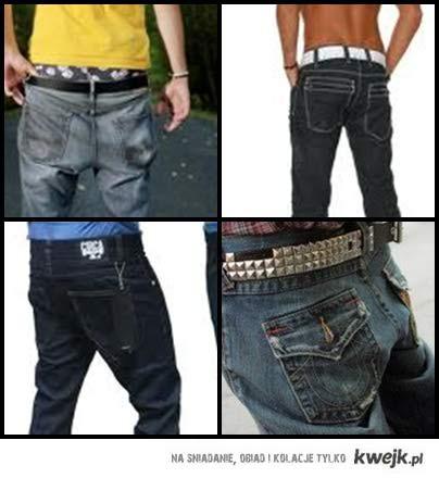 nisko noszone spodnie ^^ || Męskie tyłeczki <3