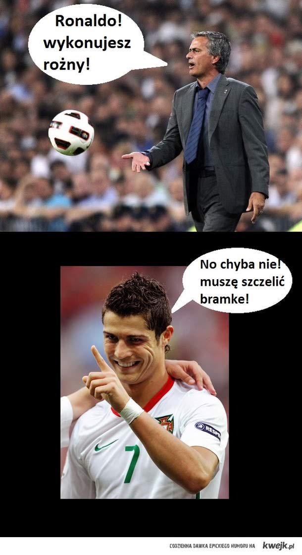 Ronaldo musi szczelić i ch*j