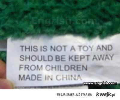 children made in china
